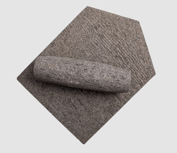 Traditional Grinding Stone (Natural Basalt Stone)